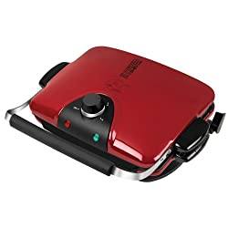 George Foreman GRP90WGR Next Grilleration Electric Nonstick Grill with 5 Removable Plates