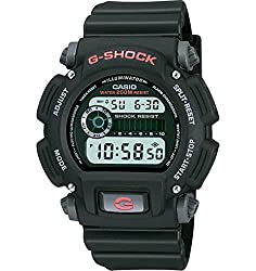 "Casio Men's DW9052-1V ""G-Shock"" Black Stainless Steel and Resin Digital Watch Review"