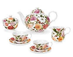 Portmeirion Rose Bouquet Tea Set