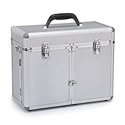 Top Performance Aluminum Professional Grooming Tool Case, Chrome