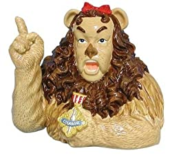 Wizard of Oz Cowardly Lion Bank