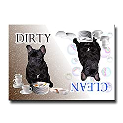French Bulldog Clean Dirty Dishwasher Magnet No 2 Review