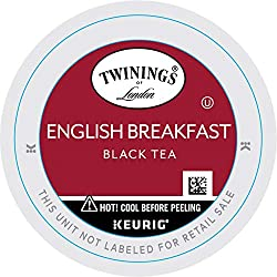 Twinings English Breakfast Tea, K-Cup Portion Pack for Keurig K-Cup Brewers, 24-Count