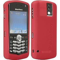 BlackBerry Red Gel Skin Case for Pearl 8100 8100c