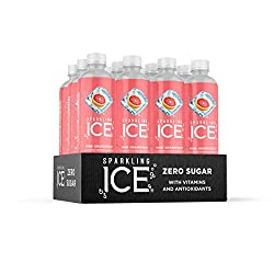 Sparkling ICE Spring Water, Pink Grapefruit, 17-Ounce Bottles (Pack of 12)