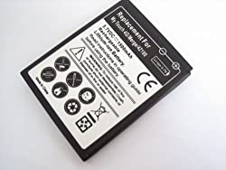 HTC Mytouch 4g T-mobile Thunderbolt Merge 42100 High Capacity Battery SPARE REPLACE REPLACEMENT – EXTRA LONG LIFE 1500mAh 1500 MaH
