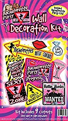 Bachelorette Wall Decoration Kit Party Accessory