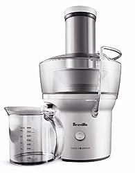 Breville RM BJE200XL Certified Remanufactured Compact Juice Fountain 700 Watt Extractor