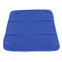 Chemical Guys  MIC7081 Glass and Window Waffle Weave Towel, Blue - 24 in. x 16 in.