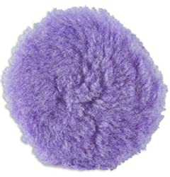 Lake Country Purple Foamed Wool Buffing/Polishing Pad, 3.5-inch Review