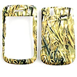CELL PHONE CASE COVER FOR BLACKBERRY TOUR BOLD 9630 9650 FOREST CAMO GRASS