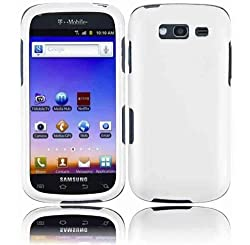 White Hard Shell Faceplate Cover Phone Case for SAMSUNG GALAXY S BLAZE 4G T769 SGH-T769