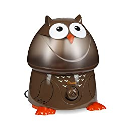 Crane Adorable Ultrasonic Cool Mist Humidifier with 2.1 Gallon Output per Day – Owl