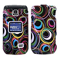 HTC MN180 Select Cell Phone Snap on Cover Vivid Groove