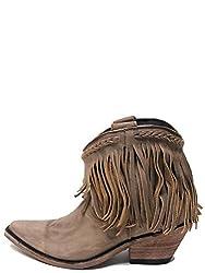 LIBERTY BLACK Short Fringe New Womens Boots – LB-71129A – 10 – M