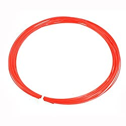 Replacement Sports Badminton Racket Racquet String Red 0.75mm Gauge 10M