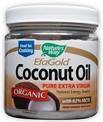 Nature's Way Organic Extra Virgin Coconut Oil, 48 OUNCES