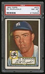 1952 Topps #372 Gil McDougald High Number Rookie Card 8 – PSA/DNA Certified – MLB Slabbed Autographed Rookie Cards