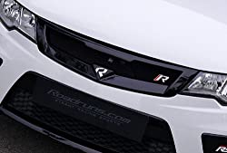 Roadruns Front NEW Radiator Hood Grill Garnish PAINTED 1-pc Set For 2008 2009 2010 2011 2012 Kia Forte : All New Cerato & Forte Koup : Cerato Koup (EB – Ebony Black)