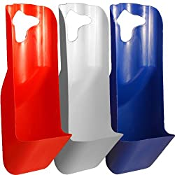"""TVK Solutions """"The Drip Catcher"""" Polypropylene Cooler Accessory, Red/White/Blue Patriot Pack"""