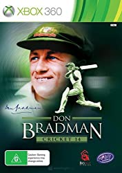 Don bradman cricket 14 (Like new)
