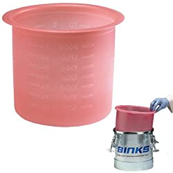 Box of 10 Devilbiss Binks 2.7 Gallon Paint Pressure Feed Pot Tank Liners (#PT-52-K10, 10 Liners) Review