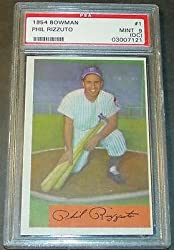 1954 Bowman #1 Phil Rizzuto HOF PSA Psa Mint 9 O/C Only 6 Cards Graded Higher