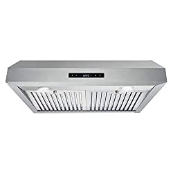 30″ 750 CFM 3-Speed Electronic Display Control Stainless Steel Under Cabinet Range Hood Review