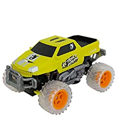 Lutema Extreme Pickup 4CH Remote Control Truck, Yellow